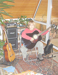 Gitarrenstunde mit Marius am 17.11.2008